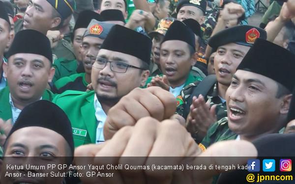 Gus Yaqut: Ansor dan Banser Terdepan Hadapi Perongrong NKRI - JPNN.com