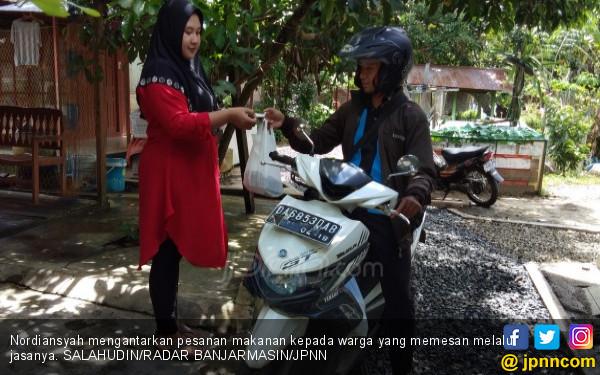 Nordiansyah Buka Usaha Mandiri, Jasa Kurir Online, Keren! - JPNN.COM