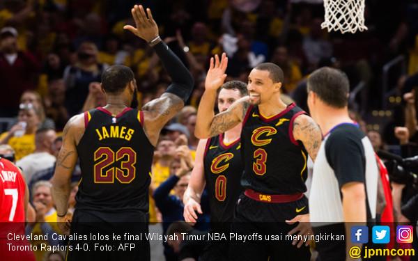 NBA Playoffs: Cavaliers jadi Tim Pertama ke Final Wilayah - JPNN.com