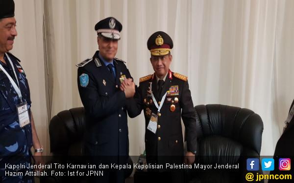 Berantas Terorisme, Kapolri Diapresiasi Raja Jordan - JPNN.COM