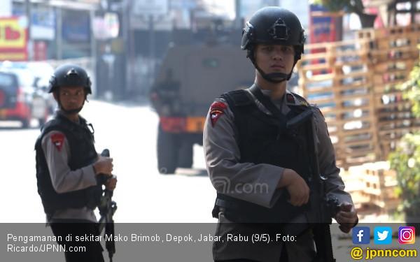 Senjata Teroris di Mako Brimob Berasal dari Gudang Polisi? - JPNN.com