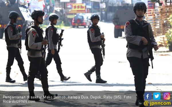 Negosiasi di Mako Brimob Berpotensi Diakhiri Baku Tembak - JPNN.com