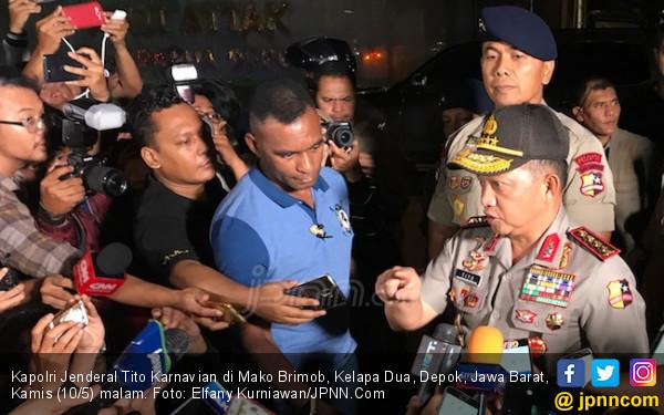 Kapolri Sebut Rutan Mako Brimob Bukan untuk Napi Teroris - JPNN.com