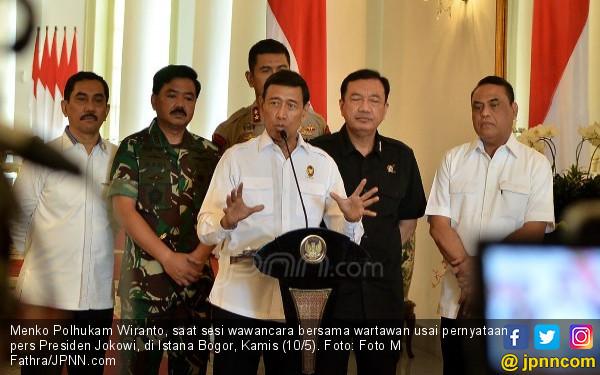 Respons Wiranto soal Desakan Ganti Kapolri dan Kepala BIN - JPNN.COM