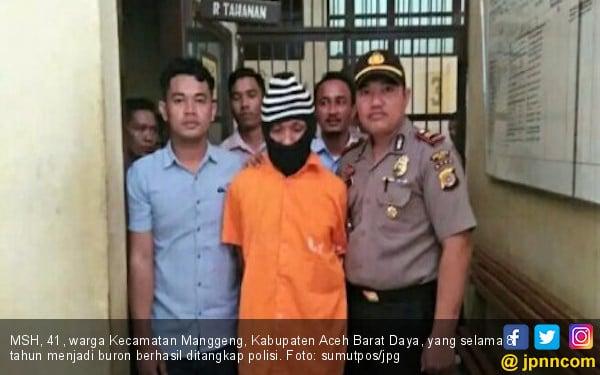 Buron 8 Tahun, Pembunuh Ini Dibekuk Saat Pulang Kampung - JPNN.COM