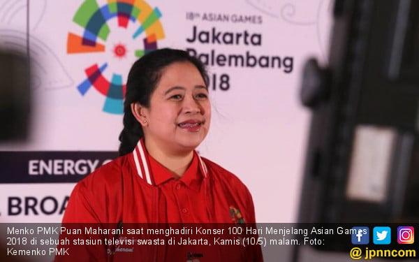 Menko PMK Berharap Harga Tiket Asian Games Tak jadi Kendala - JPNN.COM