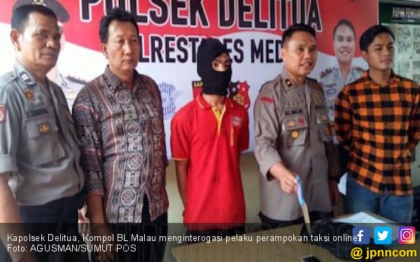 Terlilit Utang, Pria Berseragam Alfamart Nekat Rampok Sopir - JPNN.COM