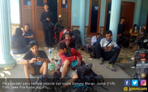 Kisah Para Pendaki saat Merapi Bergetar dan Menggelegar - JPNN.COM