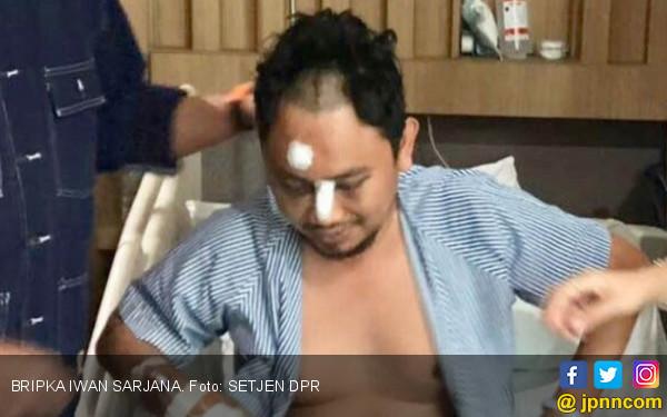 Teroris Mirip PKI! Bripka Iwan Diseret, Disiram Air Mendidih - JPNN.COM
