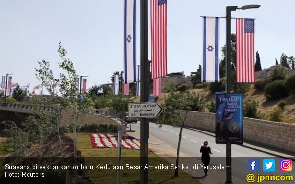 Jelang Pembukaan Kedubes AS di Yerusalem, Israel Waswas - JPNN.COM