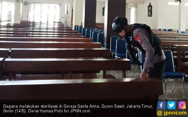 Begini Cara Penyebar Hoaks Bom Gereja Santa Anna Beraksi - JPNN.COM