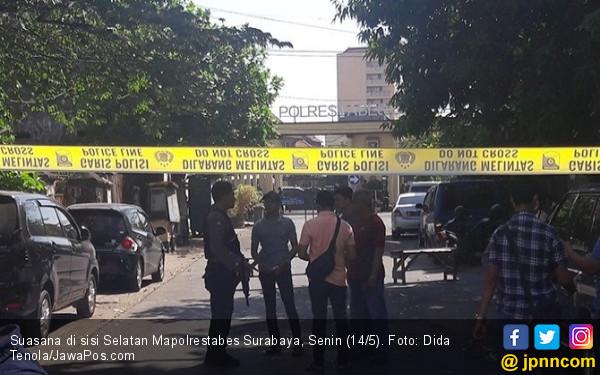 Masyaallah, Pengebom Mapolrestabes Surabaya juga Sekeluarga