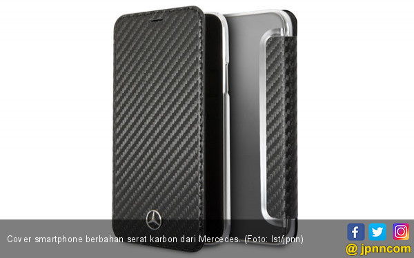 Cover Ponsel Berbahan Serat Karbon dari Mercedes