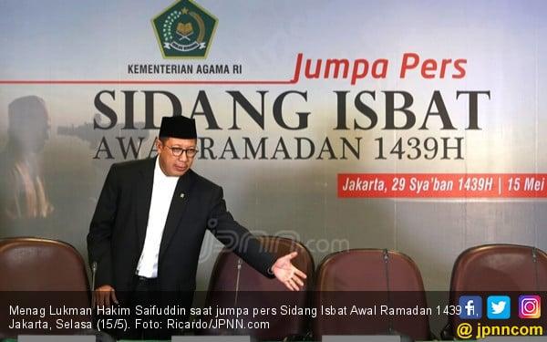 Hasil Sidang Isbat: Awal Puasa Ramadan 1439 H Kamis - JPNN.com