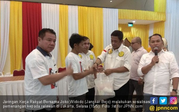 Relawan Jokowi Bakal Sebar Anggota Awasi TPS - JPNN.COM