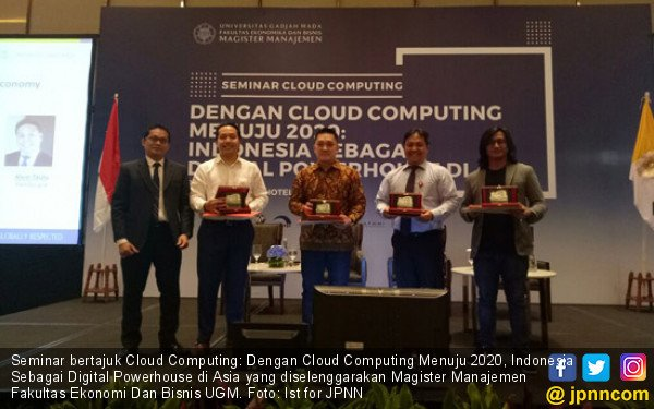 Cloud Computing Kunci Indonesia Kuasai Ekonomi Digital ASEAN - JPNN.COM