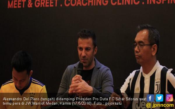 Solusi dari Del Piero agar Indonesia Lolos ke Piala Dunia - JPNN.COM
