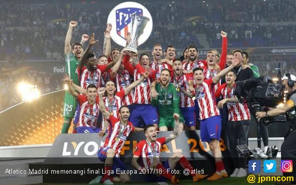 Atletico Madrid Kampiun Liga Europa - JPNN.COM