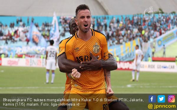 Mitra Kukar Gagal Nodai Kandang Baru Bhayangkara FC - JPNN.COM