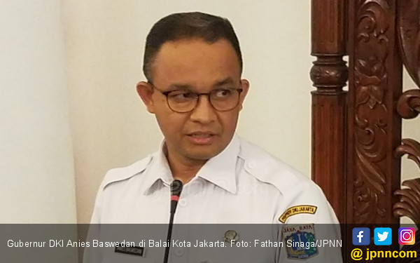 2 Pejabat Pemprov DKI Jakarta Positif Covid-19, Anies Langsung Tutup Satu Gedung di Balai Kota - JPNN.com