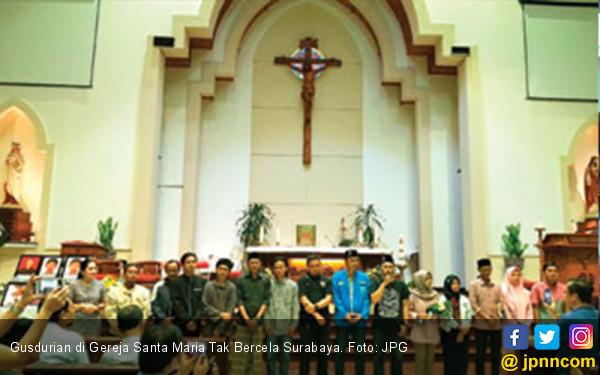 Lantunan Doa Gusdurian di Gereja Santa Maria  - JPNN.COM
