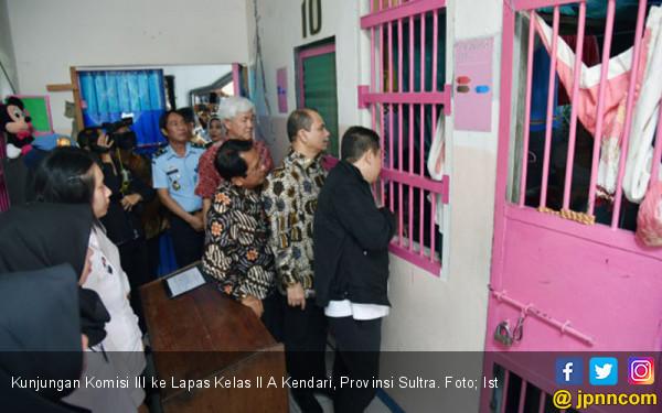 Penghuni Lapas Didominasi Napi Kasus Narkoba  - JPNN.COM