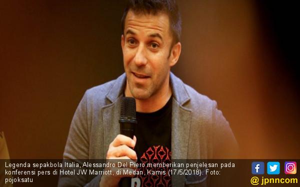 Puji Gaya Rap-rap PSMS Medan, Del Piero Bilang Begini - JPNN.COM