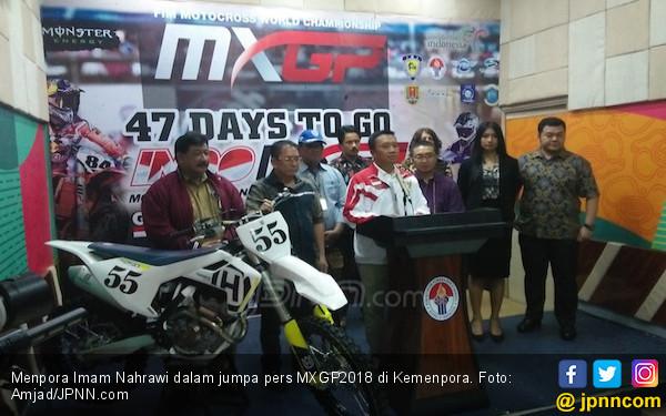 Menpora Dukung Penuh Penyelenggaraan MXGP 2018 - JPNN.COM