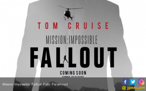 Tom Cruise Vs Superman di Trailer Mission Impossible Fallout - JPNN.COM