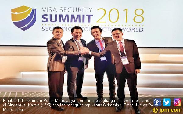 Polda Metro Terima Penghargaan di Singapura - JPNN.COM