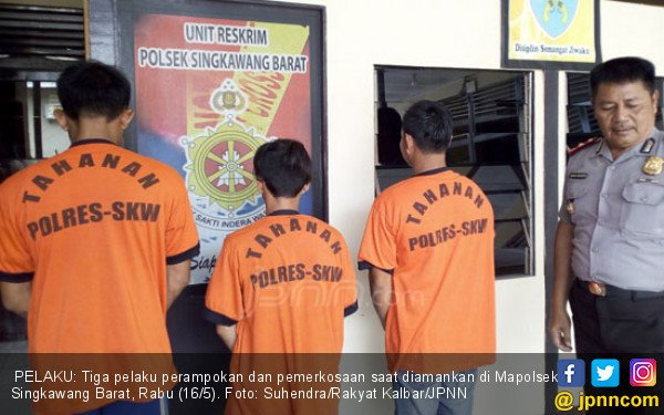 Ibu Rumah Tangga Tak Berdaya Diperkosa 3 Pria Muda di Kamar - JPNN.COM