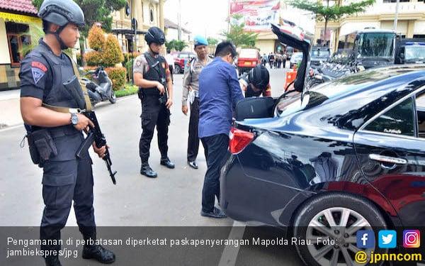 Aksi Teror Marak, Pengamanan Sejumlah Perbatasan Diperketat - JPNN.COM