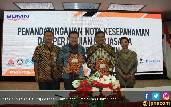 Semen Baturaja Bersinergi dengan Tujuh BUMN - JPNN.COM