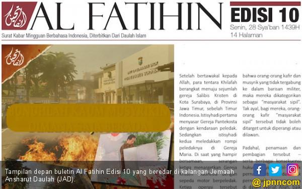 Polisi Dalami Buletin Al Fatihin Alat Propaganda ISIS - JPNN.COM