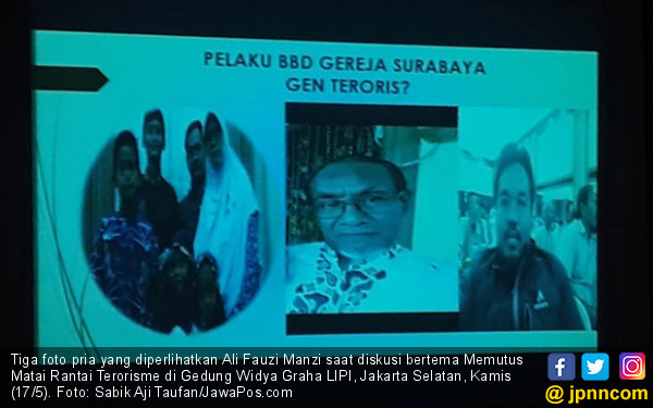 Pelaku Bom Surabaya Keponakan dari Teroris Bom Bali 1 - JPNN.COM