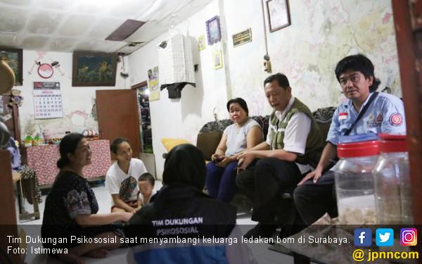 Tim Psikososial Terus Dampingi Korban Ledakan Bom - JPNN.COM