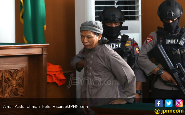 Aman Abdurrahman Bikin PN Jaksel Kosongkan Jadwal Lain - JPNN.COM