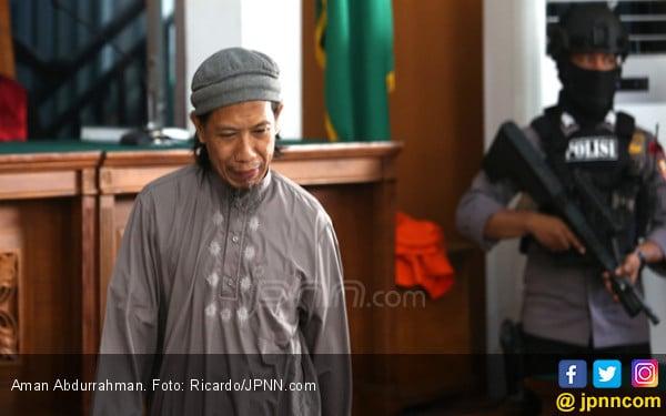Aman Abdurrahman Dituntut Hukuman Mati, Apa Reaksi Polri? - JPNN.COM