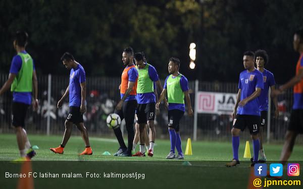 Borneo FC Geser Jadwal Latihan Jadi Malam Hari - JPNN.COM