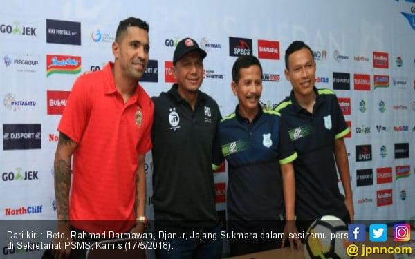 Sriwijaya FC Diunggulkan Atas PSMS, RD Ogah Over Confident - JPNN.COM