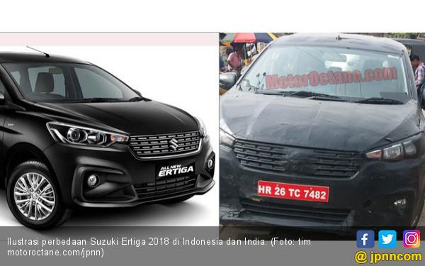 3 Perbedaan Suzuki Ertiga 2018 di Indonesia dengan India - JPNN.COM