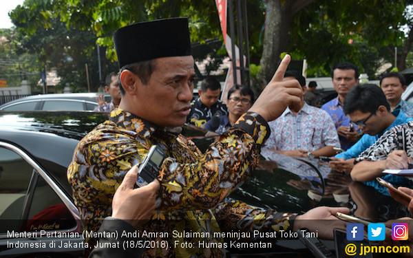 Mentan Menjamin Stok dan Harga Pangan Stabil Selama Ramadan - JPNN.COM