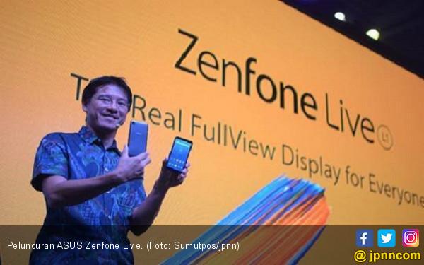 Zenfone Live, Ponsel Berlayar Lebar Harga Terjangkau - JPNN.COM