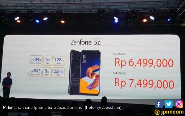 Harga Duo Asus Zenfone 5 Goda Segmen Premium - JPNN.COM