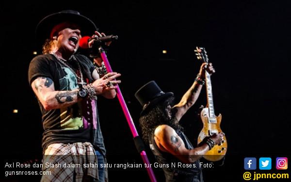 Guns N' Roses Tidak Sabar Hibur Fan di GBK - JPNN.COM