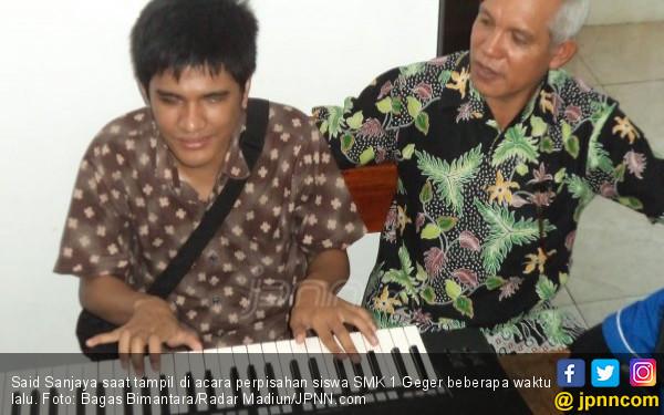 Said Sanjaya, si Stevie Wonder – nya Indonesia, Keren Bro! - JPNN.COM