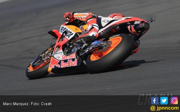 WUP MotoGP Prancis: Zarco Terjatuh, Marquez Paling Kencang - JPNN.com