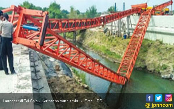 Launcher Proyek Tol Solo Kertosono Ambruk Daerah Jpnn Com