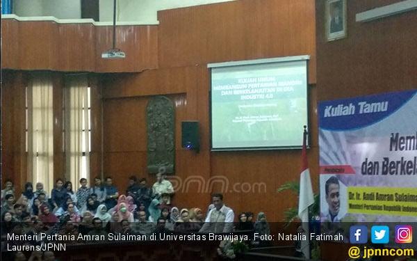 Kementan Kembangkan Hasil Penelitian 2 Dosen Brawijaya - JPNN.COM