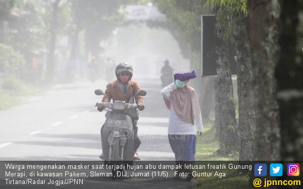 Magma di Gunung Merapi Bergerak Lambat, Encer - JPNN.com